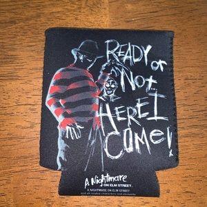 Nightmare on Elm Street can Koozie  Freddy